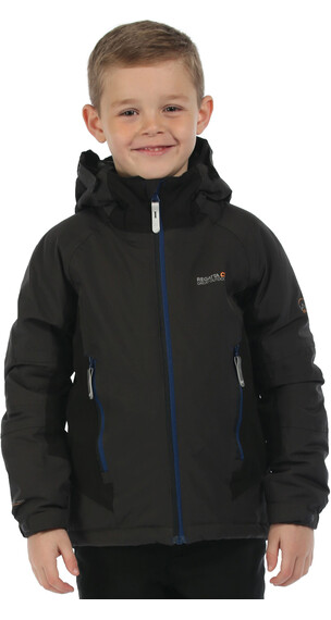 Regatta Aptitude Jacket Kids Ash/Black